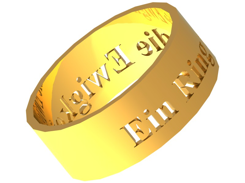Visualisierung Ring